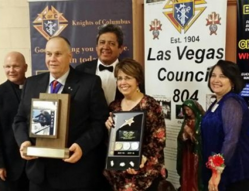 LOCAL KNIGHTS OF COLUMBUS COUNCIL RECEIVES TOP INTERNATIONAL AWARD