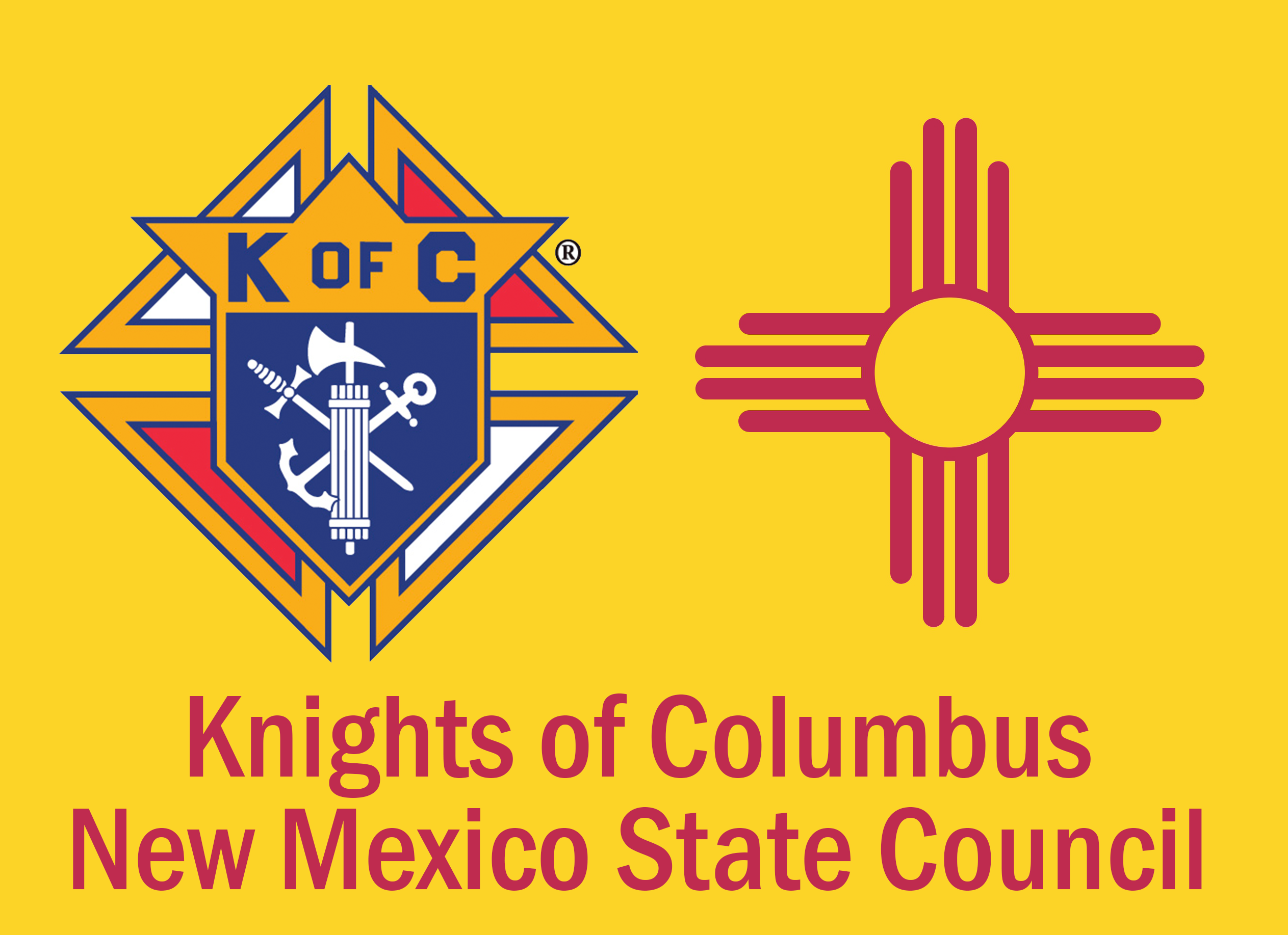 New Mexico State Council of the Knights of Columbus Logo