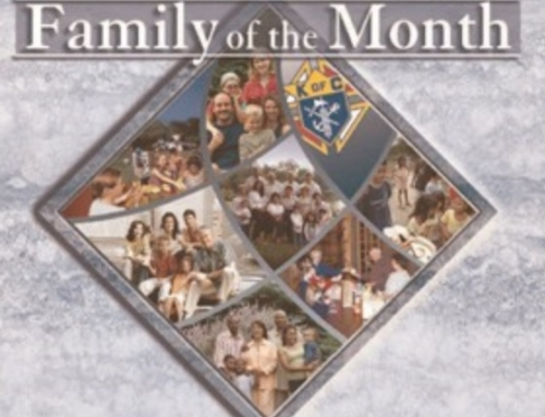 Family of the Month for New Mexico that was selected by Supreme Council