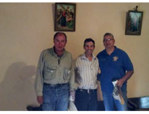 Council 10517 participated in helping the Village of Chamita mud the Chapel of San Pedro
