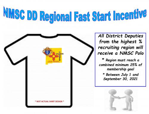 NMSC DD REGIONAL FAST START INCENTIVE