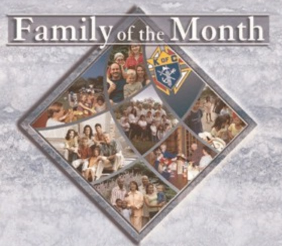 Family of the Month in October 2018 for New Mexico that was selected by Supreme Council
