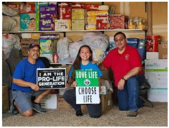 Food Drive benefiting Casa de Mariposa Pregnancy Support Center